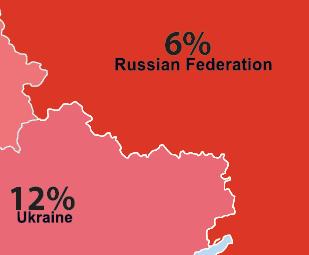 Russia ILGA Europe Map