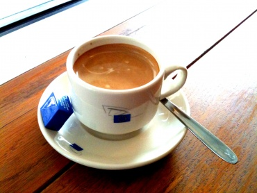 EUobserver.com: 'A coffee with the Co-presidents'