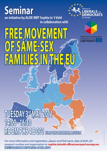 Live event: Free movement of same-sex families in the EU