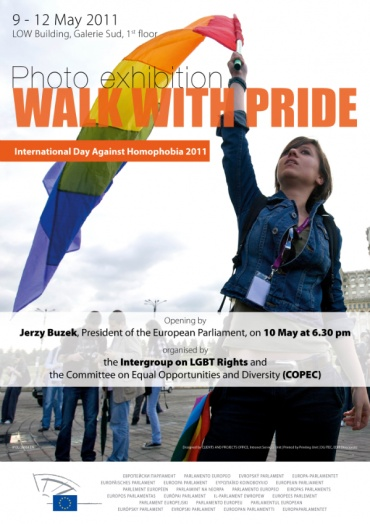 European Parliament hosts Walk With Pride exhibition