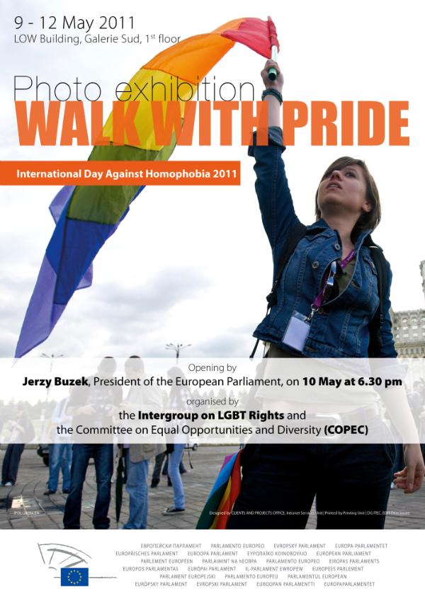 European Parliament hosts Walk With Pride exhibition