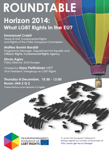 Horizon 2014: What LGBT Rights in the EU?