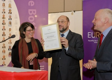 President of the European Parliament and MEPs pledge support for LGBT rights