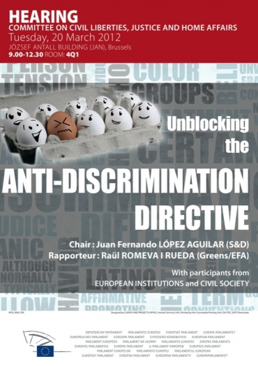 Public hearing on the anti-discrimination Directive