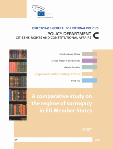 New comparative study on surrogacy in the EU