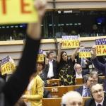 Sylvie GUILLAUME MEP, Willy MEYER MEP, Martina ANDERSON MEP, Jean-Luc MELANCHON, Marisa MATIAS MEP, Dennis DE JONG MEP, Csaba Sándor TABAJDI MEP