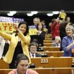 Tanja FAJON MEP, Ulrike LUNACEK MEP, Margrete AUKEN MEP