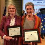 Lydia Foy and Ulrike Lunacek MEP
