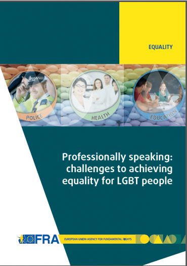 New FRA report highlights crucial role public authorities for LGBT equality
