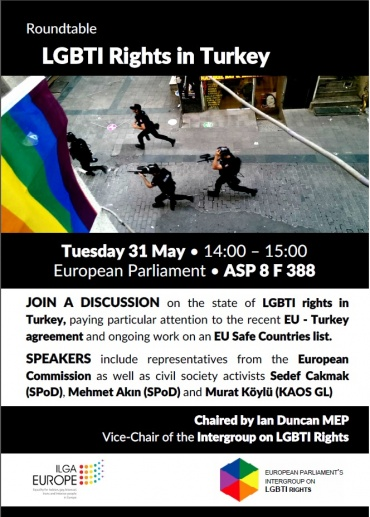 Upcoming event: LGBTI Rights in Turkey