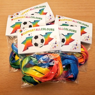 MEPs send Rainbow Laces to football teams ahead of World Cup 2018