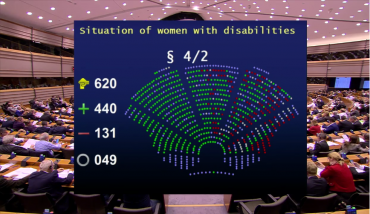 European Parliament takes a stand on the rights of LGBTI women with disabilities