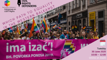 Which path to equality in the Western Balkans: consultation with local LGBTI civil society