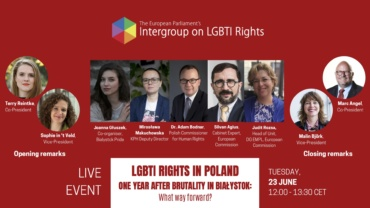 LGBTI rights in Poland one year after brutality in Białystok: What way forward?