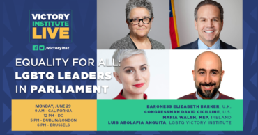 Equality for All: LGBTQ Leaders in Parliament