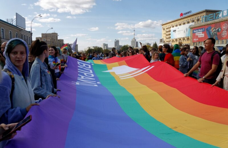 MEPs ask the Ukrainian government and police leadership to ensure the protection of LGBTI demonstrators in upcoming Prides in Kharkiv and Zaporizhia