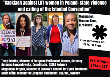 Backlash against LBT women in Poland : state violence and exiting of the Istanbul Convention