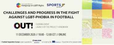Challenges and progress in the fight against LGBT-phobia in football