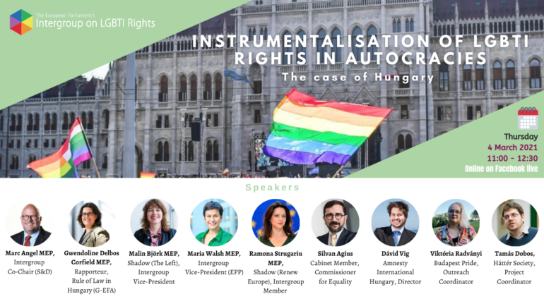 Instrumentalisation of LGBTI Rights in Autocracies: The case of Hungary