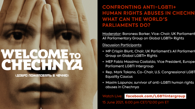 Confronting anti-LGBTI+ human rights abuses in Chechnya: what can the World's parliaments do?